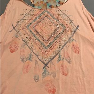 Maurices Tops - Maurice's Coral Open Side Tank Size 3